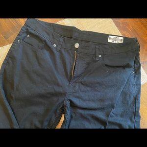 Men's jeans black